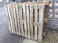 Wooden Pallets x 2 - Free must collect from Stamperland G76