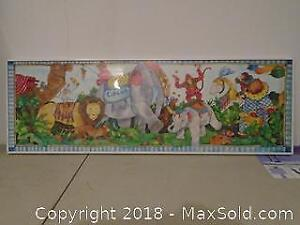 Framed Print of Circus