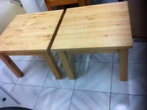 2 NEW Light Wood Coffee Tables Matraville Eastern Suburbs Preview