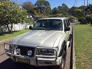 1996 Toyota LandCruiser SUV Frenchs Forest Warringah Area Preview