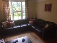 corner sofa settee suite - Free to collector