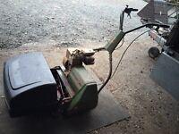 Petrol Webb Lawn Mower