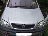 FRONT BONNET IN SILVER FOR zafira 2002 year model.