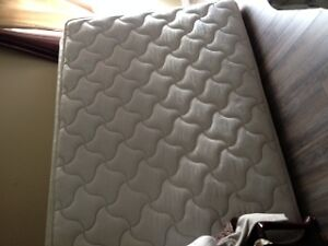 queen size   box spring and mattres