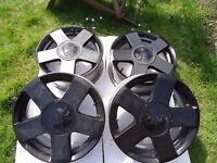 "15"" 4x Ford Fiesta Zetecs alloys wheels Original Escort Puma KA"