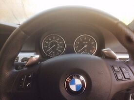 BMW 325i M Sport Coupe, Semi-Automatic, Red Heated Leather Seats. Fantastic example