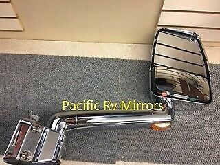 715564 Velvac Passenger Side RV Chrome Mirror  - Fleetwood L19-3000