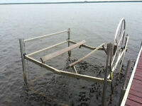 Fendock AluminumBoat lift for sale in Arnprior