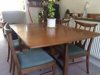 G-Plan dining table & 4 Chairs for sale  Llandaff, Cardiff
