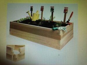 """All Cedar"" Double Raised Garden Box"