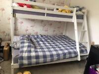 Childrens Wooden Bunk Bed