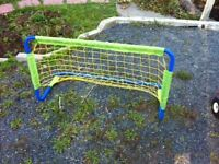 Small metal soccer net - very sturdy in good condition