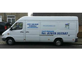 MAN WITH VAN HUDDERSFIELD ANDY VAN MAN LOCAL AND NATIONWIDE 7 DAYS A WEEK