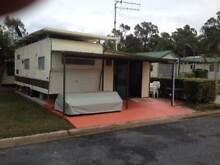 On site van with annex Happy Hallidays Van Park Muswellbrook Muswellbrook Area Preview