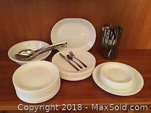 Corel Dishes And Cutlery