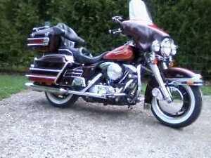 Harley Davidson Electra Glide!