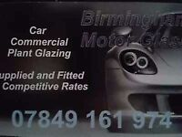 Windscreens supplied and fitted,west midlands birmingham coventry