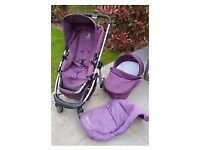 icandy cherry mulberry travel system BARGAIN