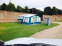 Trailer tent campervan - awning ready to go! Very well looked after