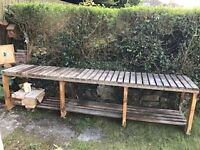 FREE - Garden/workshop bench