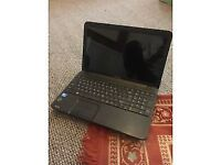 Laptop toshiba 15.6 inch like new win 10 500g hard 4g ram ms office hdmi DVD web cam selling as got