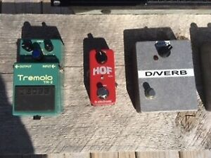 Guitar pedals, Duncan minihumbucker and rack EQ