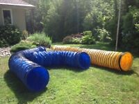 PVC DOG AGILITY TUNNEL 15 FT 8 INCH PITCH