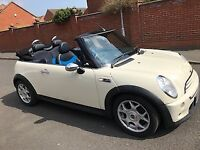 Immaculate Mini Cooper S Convertible 2007 car new mot till 22.07.2019 76801 miles on clock