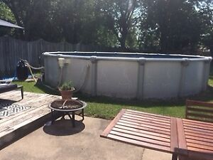 Above Ground Pool - 24 foot round