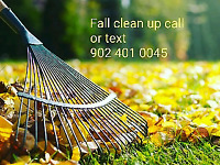 Butler landscaping fall clean up