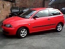 SEAT IBIZA Red - 1198cc / Petrol