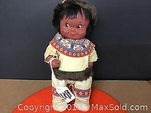 1960s Regal Canada Inuit 10 inch doll