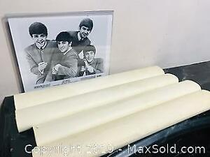 Vintage 1964 Beatles Posters Set and Lobby Card
