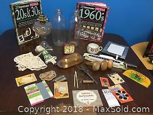 Antique Sewing Supplies And Collectibles