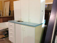 White Cabinets with White Pulls