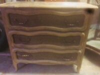 Chest of Drawers- 3 Drawers - House clearance £20
