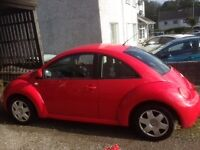 Volkswagen Beetle - Red Y Reg 2001