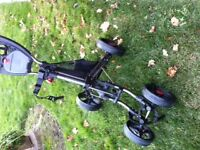 Golf Cart - CaddyTek 4-wheel push cart