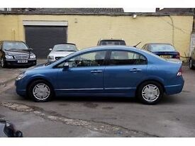 Automatic Honda Civic hybrid 1.3. Only £10 road tax