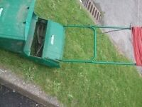 Qualcast Concorde 35 electric lawnmower CAN BE SEEN WORKING