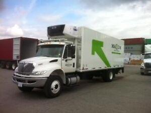 2016 International 4300 4x2, Used Reefer Van