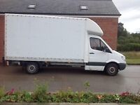 removals, man with a van, single items 24/7 365