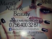 Manicure, pedicure, gel extension, acrylics, gel polish & others