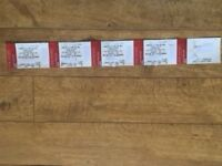 2x U2 Tickets - Seated, Sun 9 July Twickenham. Sell as pair. £249 per ticket. Face value £187