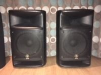 Yamaha Stagepas 500 PA system inc soft cases - well gigged but nice sounding