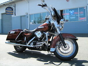 1998 Road King FLHR - like new, only 7800km on brand new build!