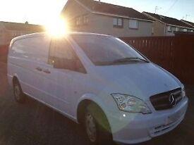 2011 Mercedes Vito 113 CDI LWB White Van - No VAT!