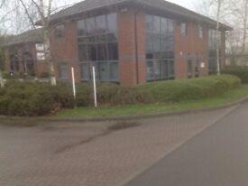 To Let Business Property Office 1 Lancaster Pk, Needwood, Burton on Trent