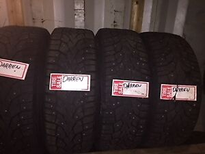 215/55R17 Winter Studded Tires