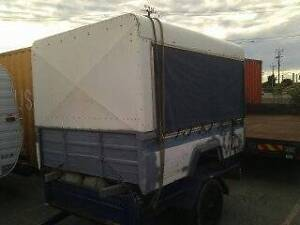 Toyota Land Cruiser Ute Tray Trailer canopy 75 series Dyna Delta Port Adelaide Port Adelaide Area Preview